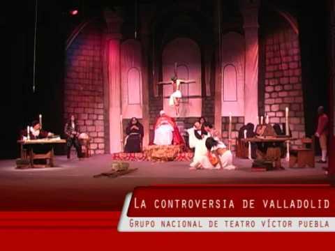 Revista de arte: La controversia de Valladolid, función especial en Puebla