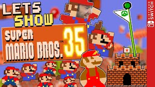 🔴 Mario BATTLE ROYALE! 🏅 SUPER MARIO BROS. 35