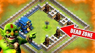 DON'T DROP YOUR TROOPS HERE!! - Clash Of Clans