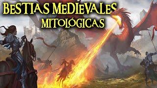 BESTIAS MEDIEVALES MITOLÓGICAS - Dragones, vampiros, demonios, fantasmas, sirenas y otros monstruos