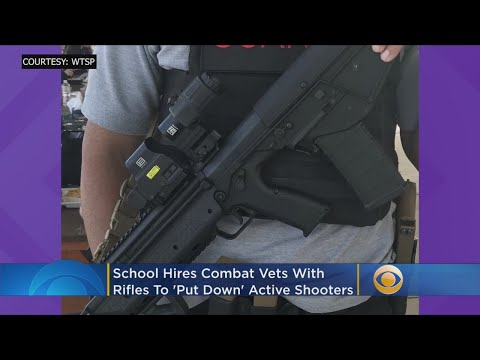 School Hires Combat Vets With Rifles To 'Put Down' Active Shooters Mp3