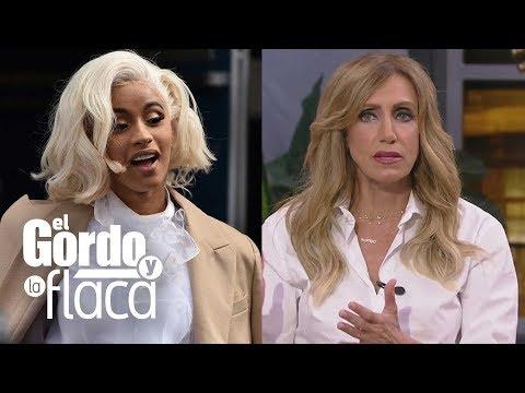 Super Martinez - Lily Estefan Le Envía Un Mensaje Directo a Cardi B