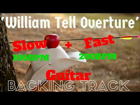 'William Tell Overture' Guitar Backing Track Instrumental