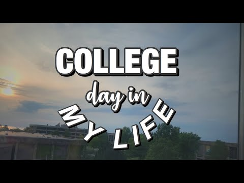 COLLEGE VLOG: A DAY IN MY LIFE   SUNY OSWEGO