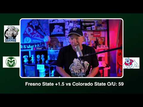 Fresno State vs Colorado State Free College Football Picks and Predictions CFB Thursday 10/29/20