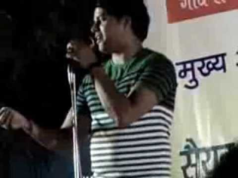 imran pratapgarhi at Daulat Hussain Inter College Allahabad 2013 PART1