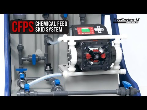CHEM-FEED® CFPS - Engineered Skid System for Municipal Applications