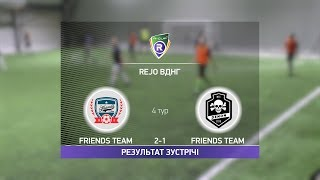 Обзор матча Friends Team Denon R CUP Турнир по мини футболу в Киеве