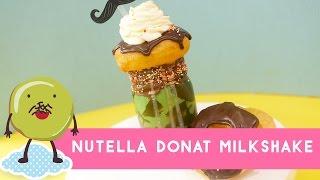 Resep Nutella Donat Milkshake (Nutella Donut Milkshake Recipe)