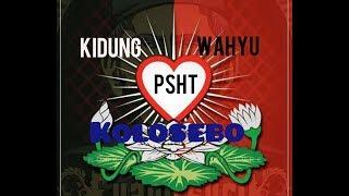 Gambar cover Kidung Wahyu Kolosebo. PSHT