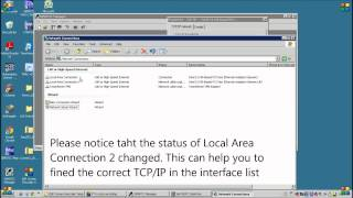 Access to Siemens PLC, TCP/IP Interface setting (Part 2 of 8)