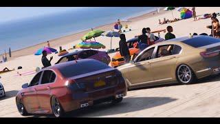 GTA 5 BMW Car Meet (Real Car Mods)