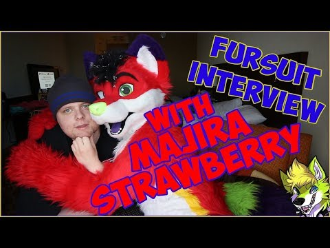 Majira Strawberry Fursuit Interview
