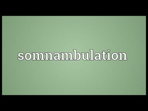 Header of somnambulation