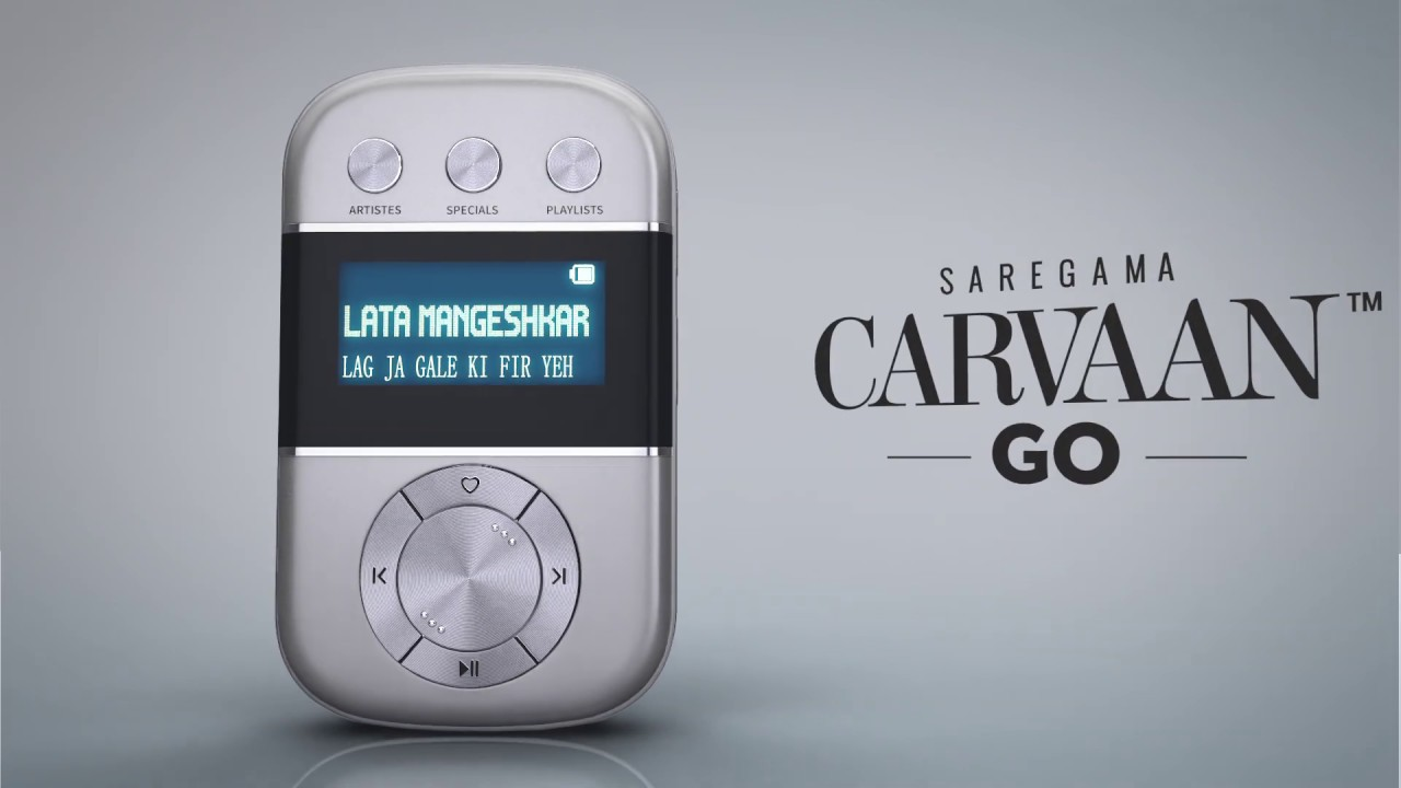 Saregama Carvaan Go - Personal Digital Audio Player with