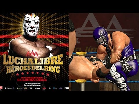 Let's Play Lucha Libre Heros Del Ring - Part 1