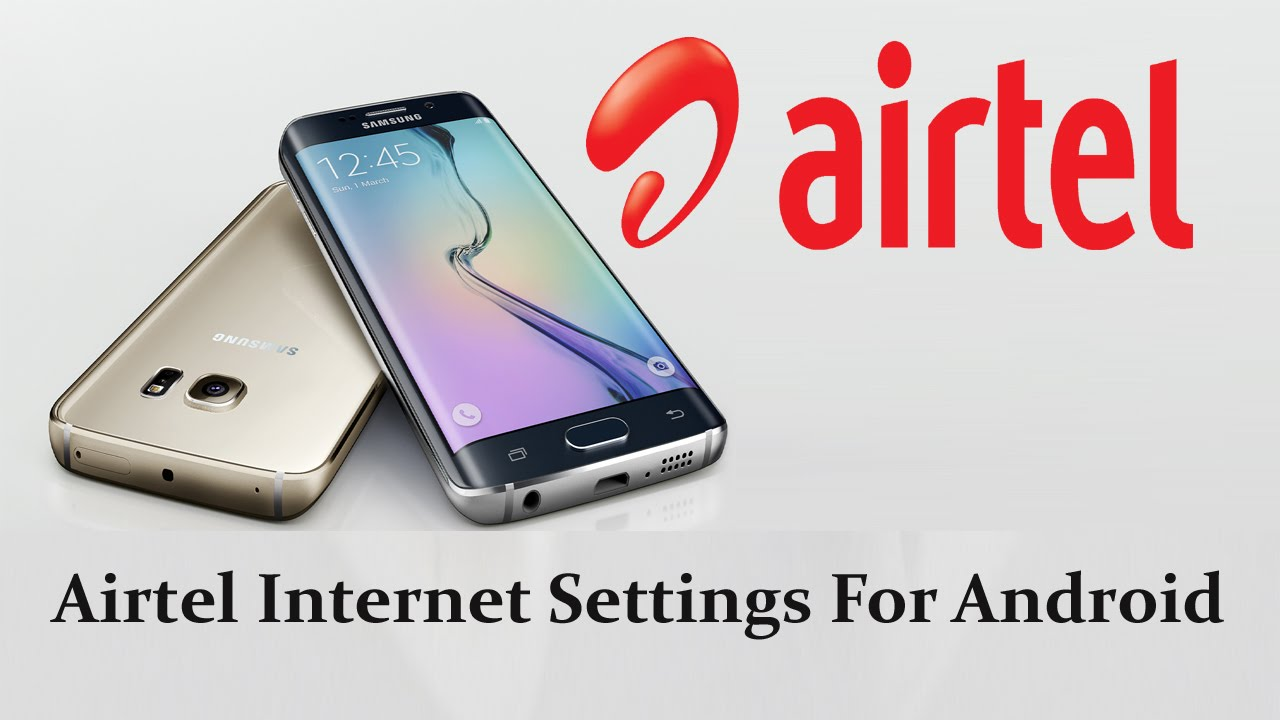 internet manual settings for airtel