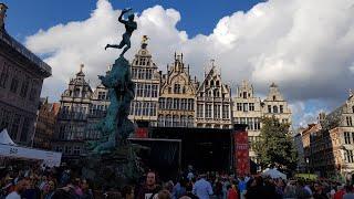 Антверпен/Бельгия/Музей MAS/Антверпенская Ратуша/Собор Антверпенсой Богрматери/Замок Стен/Тоннель