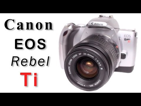 How To Use Canon EOS Rebel Ti Film Camera, EOS Kiss 5, EOS 300V