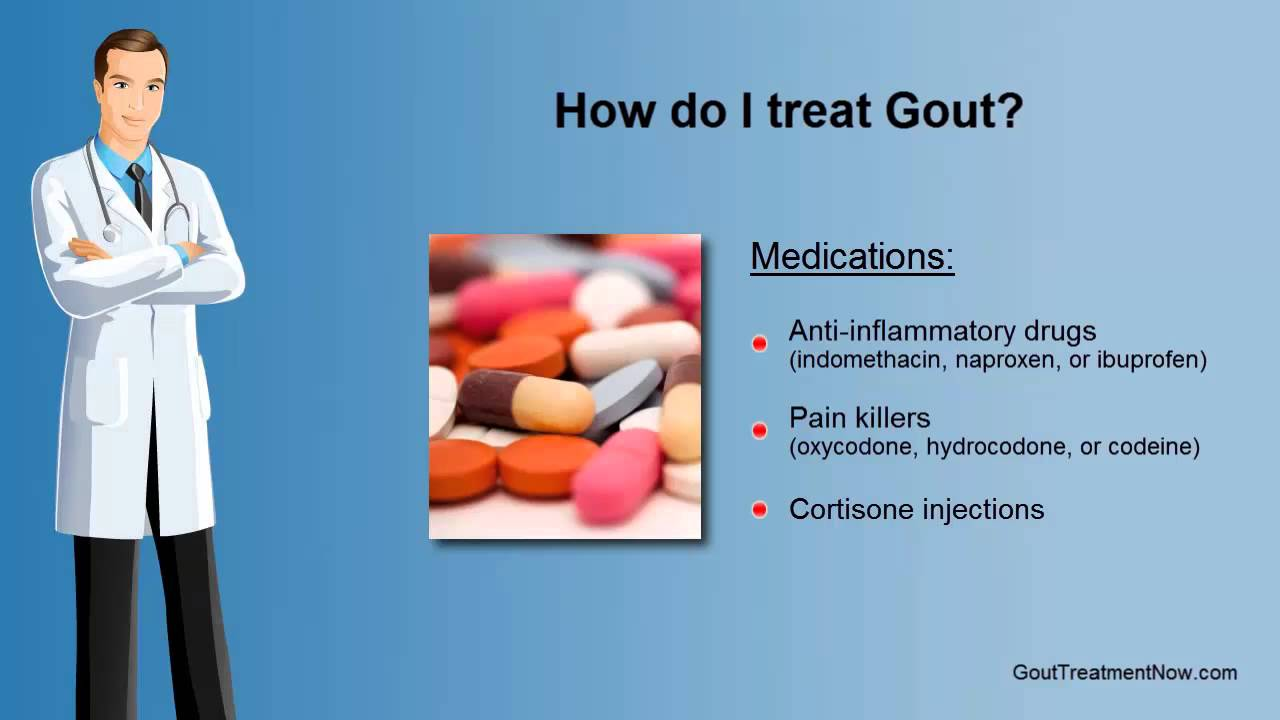 gout foot treatment