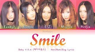 Baby V.O.X (베이비복스) Smile (웃어요) - Han/Rom/Eng Lyrics (가사) [19…