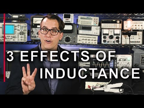 What is Inductance? The 3 Effects of Inductors - The 2-Minute Guru (s2e9)