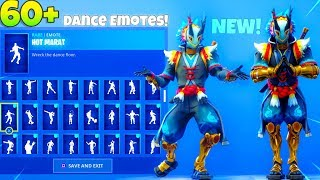 *NEW* TARO SKIN! With ALL NEW! DANCE Emotes SHOWCASE! (Drift V2!?) Fortnite Battle Royale