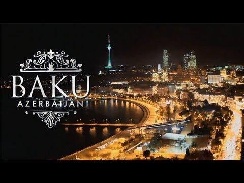 Baku - Capital of Caucasus. Baku - Azerbaijan. Absheron and Caspian Sea. Baku.