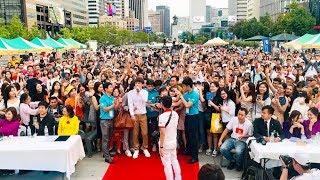 Hàng Vạn Khán Giả Tại Hàn Quốc Quẩy Cùng Hồ Quang Hiếu