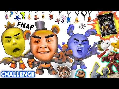 Five nights at freddy s blind bag challenge w disney infinity ultron