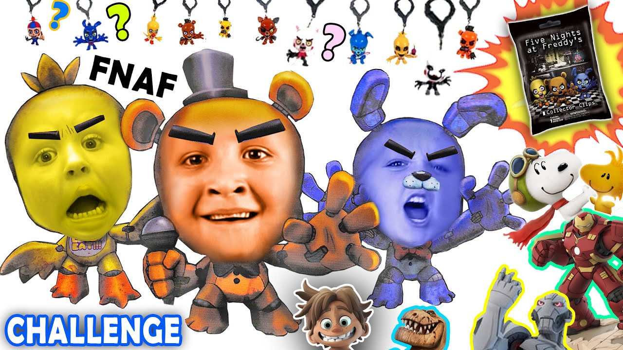 Five Nights At Freddy S Blind Bag Challenge W Disney