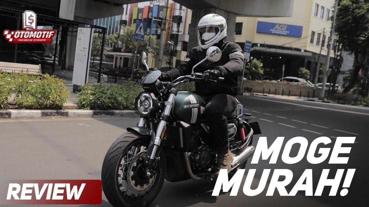 MOGE BARU CUMA 80 JUTAAN! Review SM Sport SM3 Moge 400cc Murah!
