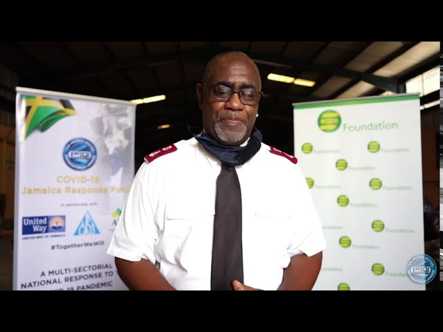 PSOJ COVID Fund - Salvation Army Interview