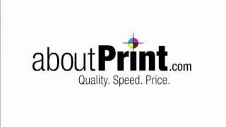 aboutPrint.com Radio Spot
