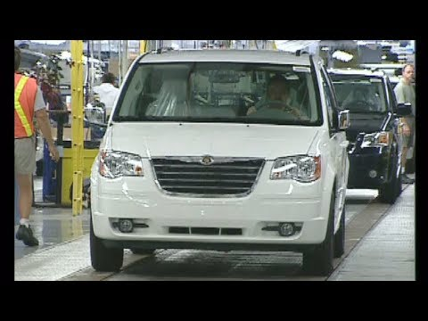 Chrysler Windsor Assembly Plant, Canada – Chrysler Town & Country / Dodge Grand Caravan (2008)