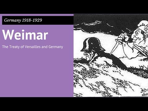 GCSE Germany 2: Treaty of Versailles & Germany