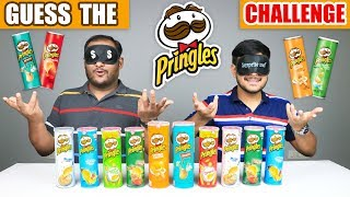 GUESS THE PRINGLES CHIPS CHALLENGE | Pringles Potato Chips Eating Competition | Food Challenge