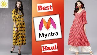 Myntra try on haul | Best summer clothing haul |
