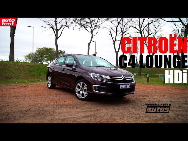 Prueba - Citroën C4 Longe HDi - AutoTest Argentina