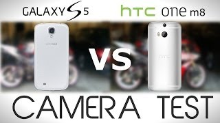 HTC One M8 VS Samsung Galaxy S5 - Camera Test