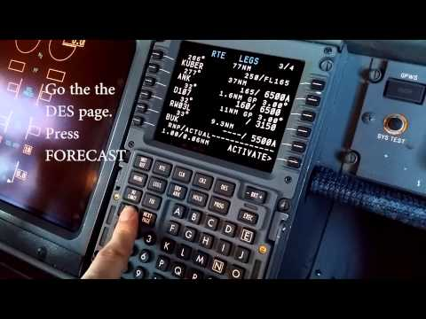 Boeing 737NG FMS Pre-flight Setup