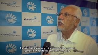 Interviews about CrucialTrak Biometric Access Control System