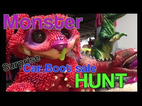 Monster Car Boot Sale Treasure Hunt
