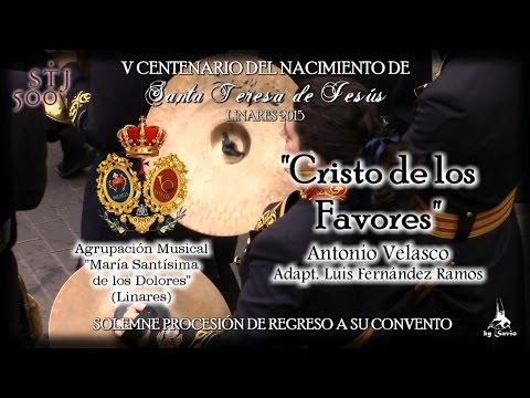 """(A.M. Dolores) """"Cristo de los Favores"""" Traslado """"Santa Teresa"""" Linares 2015-by Savio"""