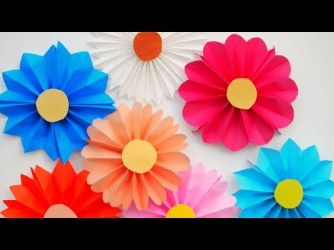 Super easy paper flowers diy room decoration flowers paper super easy paper flowers diy room decoration flowers paper crafts mightylinksfo