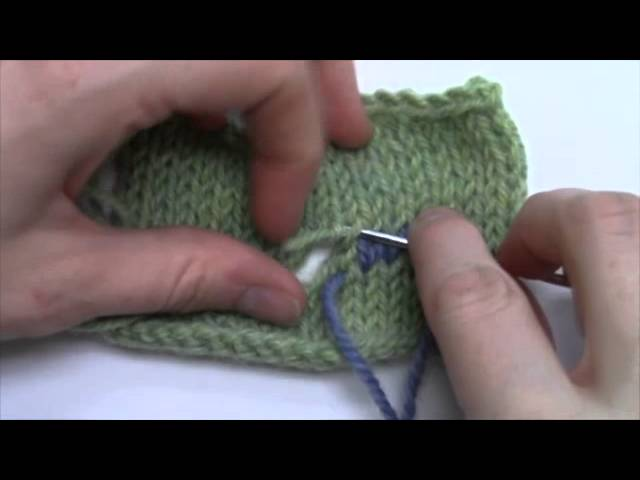 How To Fix a Hole In Your Knitting YouTube