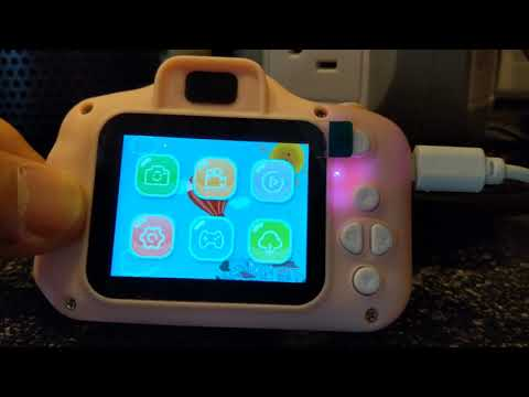 CHILDREN'S CAMERA DEMONSTRATION AND REVIEW GOOPOW KID FRIENDLY CAMERA