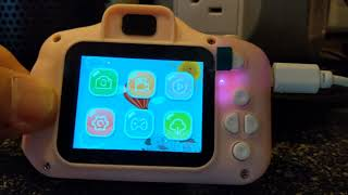 CHILDREN'S CAMERA DEMONSTRATION AND REVIEW GOOPOW KID FRIENDLY CAMERA screenshot 2