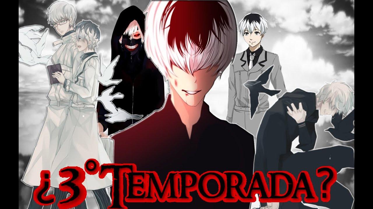 anime tokyo ghoul 1 temporada online: TOKYO GHOUL TERCERA TEMPORADA