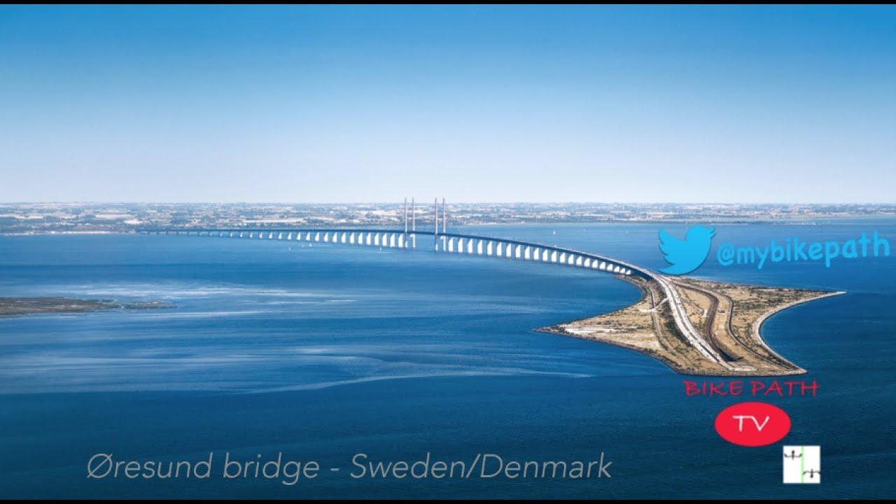 Øresund Bridge Denmark Sweden KØbenhavn To MalmÖ